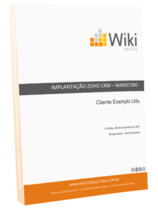 Implantação Zoho CRM - Marketing