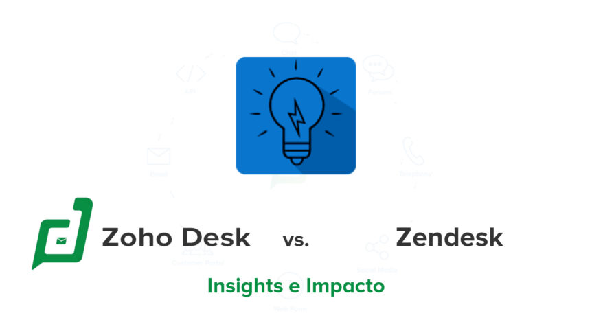 Comparativo Zoho Desk vs Zendesk – Insights e Impacto